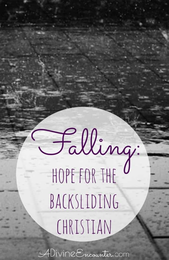 Backsliding believer, take heart! Righteousness isn't about perfection. It's about Christ-clothed sinners seeing every fall as an invitation to rise again.
