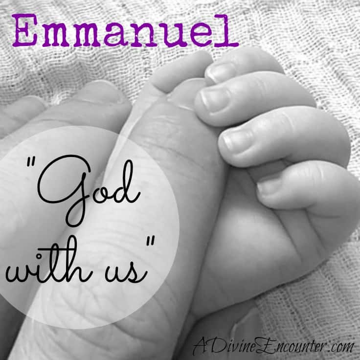 What does Christmas really mean? It's summed up in one name: Emmanuel, God with us. A baby born to die, so He could rise again and become God IN us. http://adivineencounter.com/emmanuel