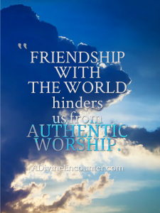 Is God receiving your worship? Or is He ignoring it? Even worse, is He condemning it? He doesn't want us to guess about such an important question. Let's consider it together. http://adivineencounter.com/the-worst-friend