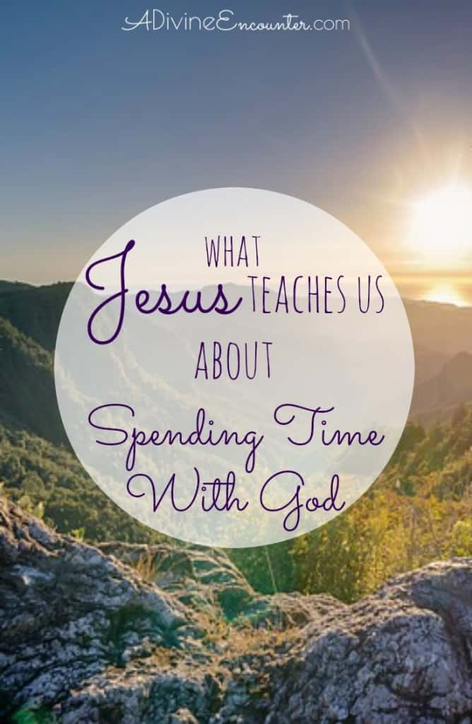 An intimate look at Jesus' relationship with His Father, examining His habit of spending time with God, and considering the implications for Christians.