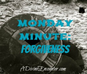 Insightful post about what forgiveness really means. Ephesians 4:32  http://adivineencounter.com/monday-minute-forgiveness