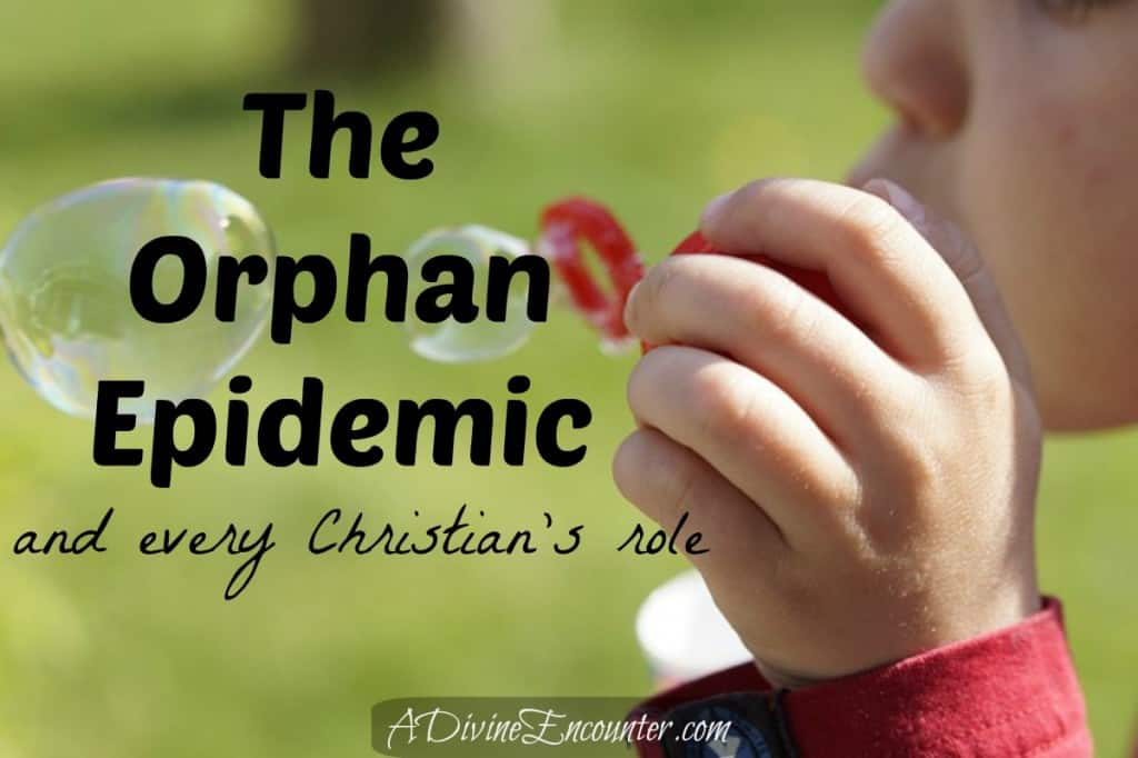 Thought-provoking post offering 5 items EVERY Christian should consider in relation to adoption. (James 1:27) https://adivineencounter.com/the-orphan-epidemic