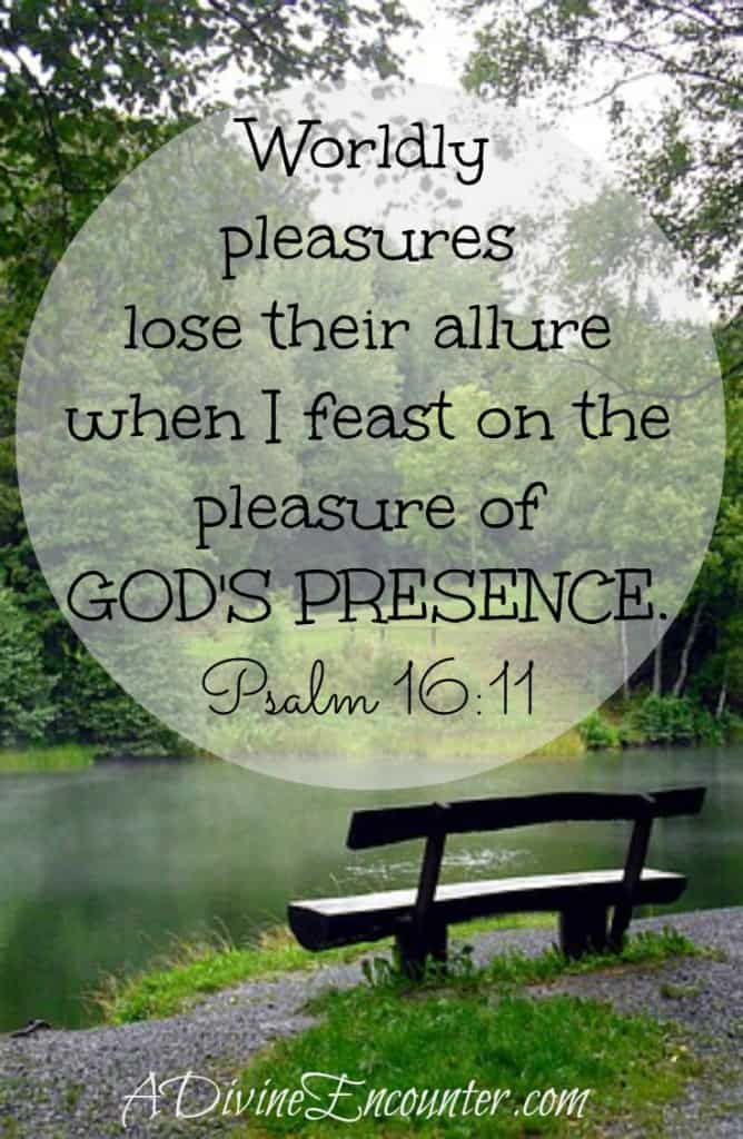 Uplifting post revealing the key to joy and fulfillment in life. (Psalm 16:11) http://adivineencounter.com/monday-minute-the-path-of-life
