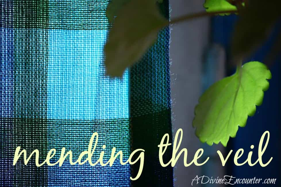 Mending the Veil of the Temple