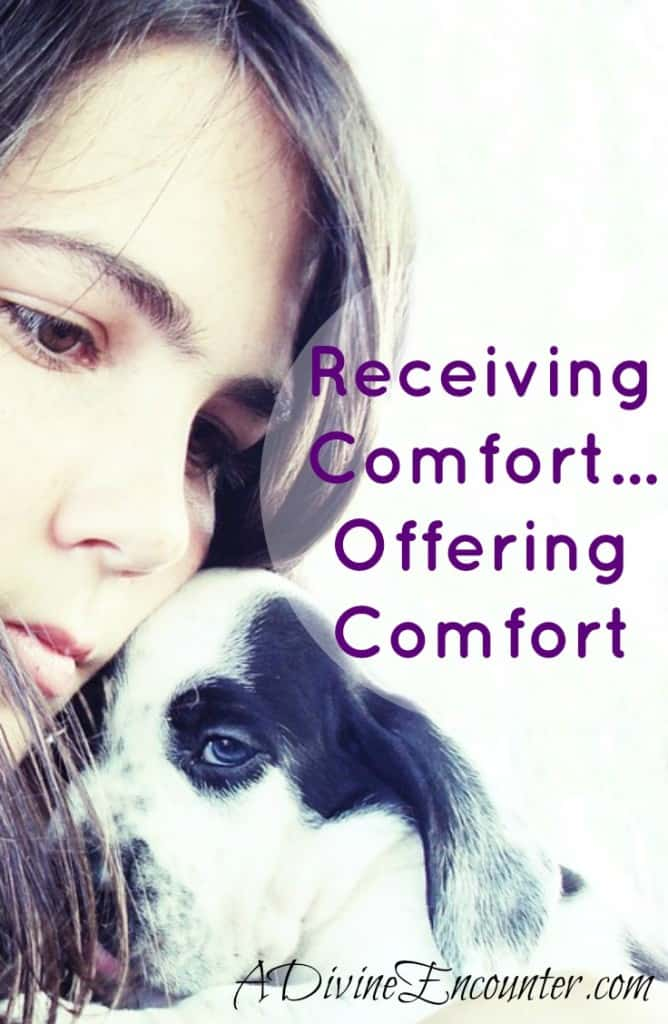 Uplifting post discusses the importance of empathizing with others' trials and offering comfort from the comfort we have received from God. (2 Cor. 1:3-4) http://adivineencounter.com/monday-minute-comfort