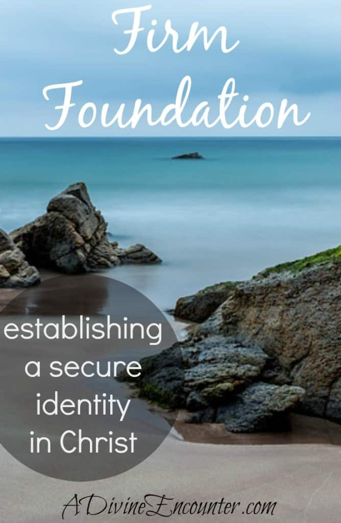 Thoughtful post considers the many aspects of our identity, concluding that the only firm foundation in life is our secure identity in Christ. (Isaiah 43:1) http://adivineencounter.com/firm-foundation