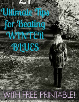 tips for beating winter blues title