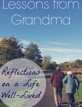 Lessons from Grandma