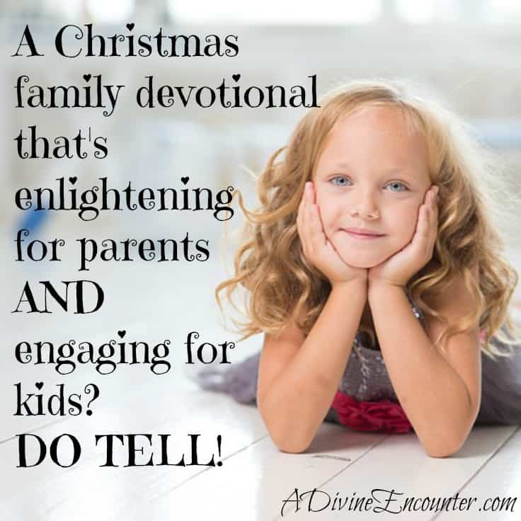 Author reviews an outstanding family resource. This family devotional will enlighten parents & engage kids, refreshing & strengthening the whole family. http://adivineencounter.com/not-your-average-family-devotional