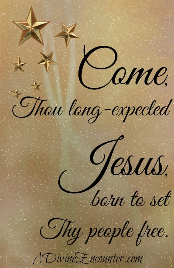 A personal post considers the anticipation of the Messiah's arrival two thousand years ago, likening it to the modern day anticipation of Christmas. http://adivineencounter.com/why-ill-put-up-my-christmas-tree-earlier-next-year