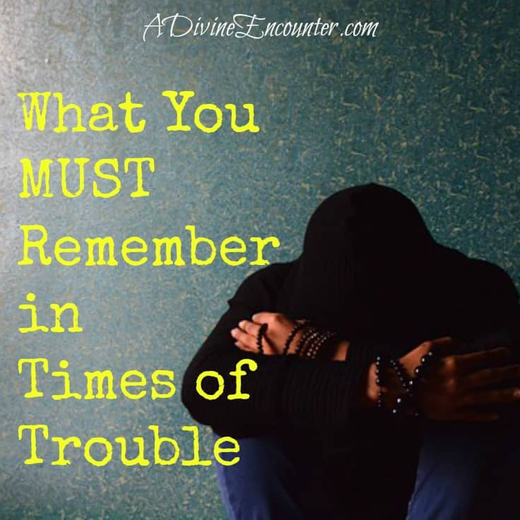 Insightful post looks at Mary's experience in the days leading up to Jesus' birth, offering an important truth about times of trouble. https://adivineencounter.com/what-you-must-remember-in-times-of-trouble/