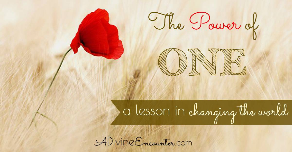 The Power of One: A Lesson From the Good Samaritan