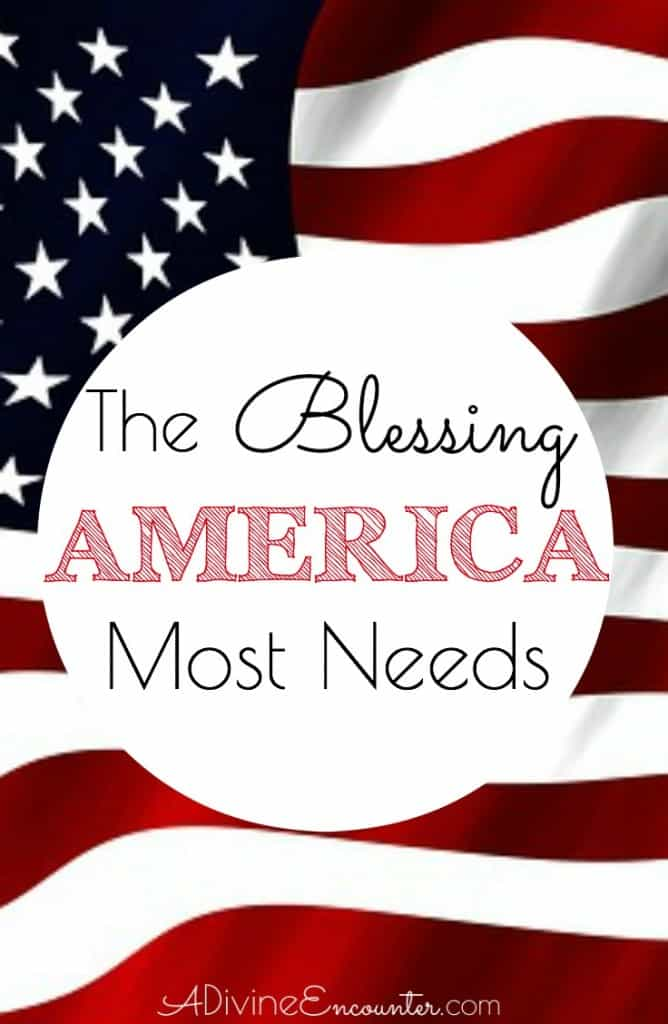 God has been blessing America since its inception, but America is increasingly drifting from Him. Insightful post reveals the blessing America most needs.