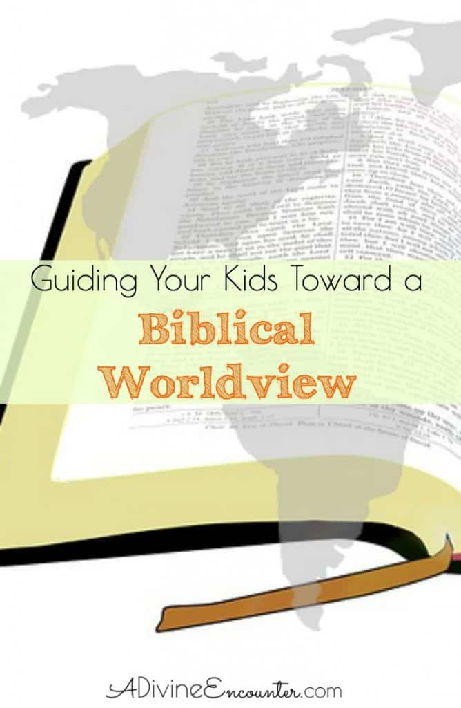 A must-read post for Christian parents, full of tips for guiding your kids toward developing a biblical worldview.