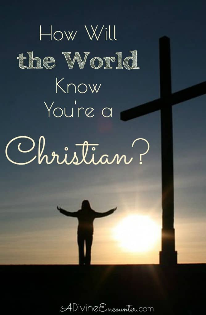 How can Christians be identified? What makes them different? This thoughtful post points out the distinguishing mark of Christians, according to Jesus.