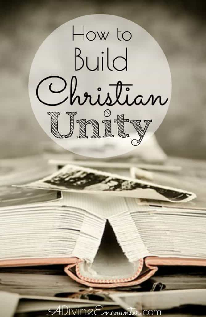 Coming to faith in Christ makes one part of the body of Christ. God does the work of Christian unity, but how can we make sure we aren't undoing it?