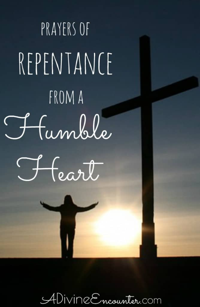 Confession is an important part of the Christian's relationship with God. Thought-provoking post shares five prayers of repentance for Christians.