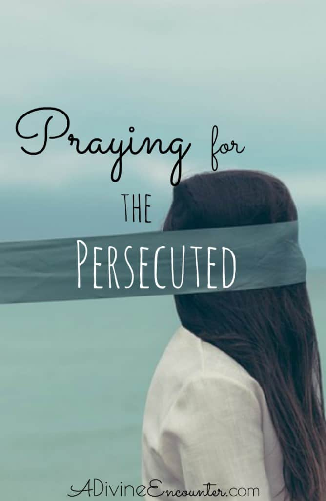 Thought-provoking post discusses why believers should be praying for persecuted Christians, and offers 5 biblical prayers for the persecuted.
