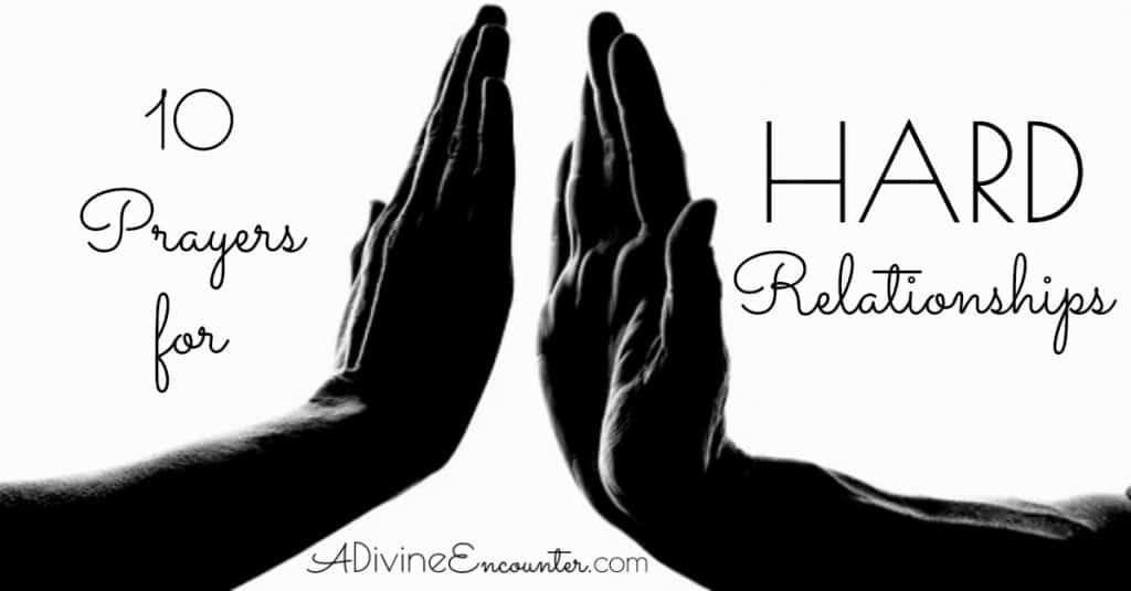 Prayers for Hard Relationships fb