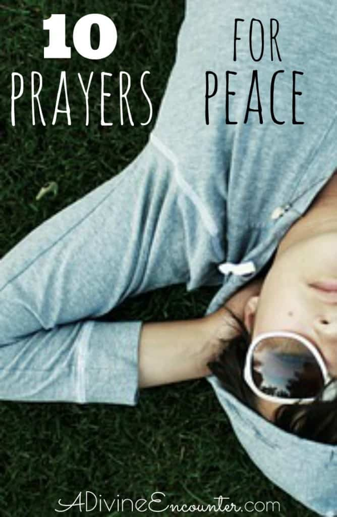 Many of us long for peace, but how often do we pray a specific prayer for peace? Here are 7 biblical prayers for peace.