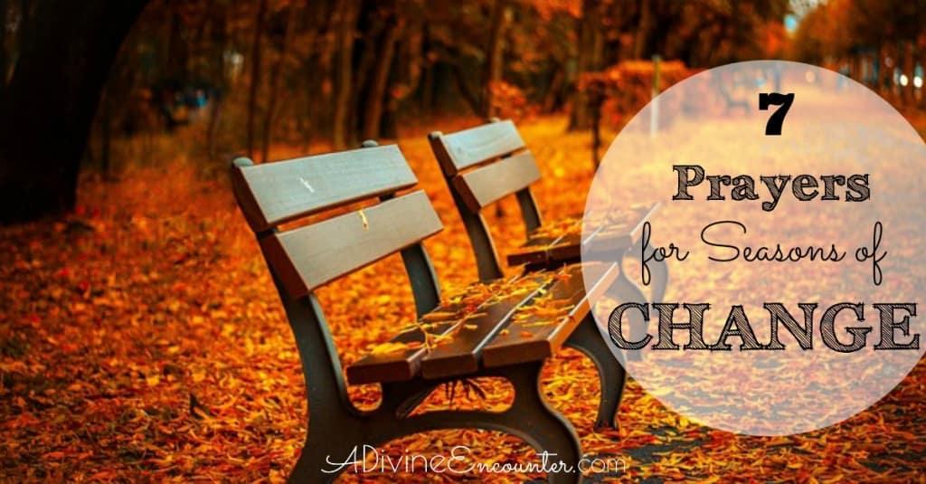Prayers for Seasons of Change fb
