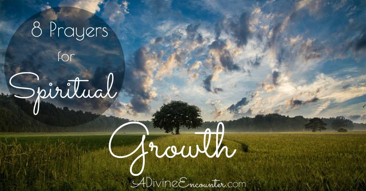 8 prayers for spiritual growth fandeluxe Document