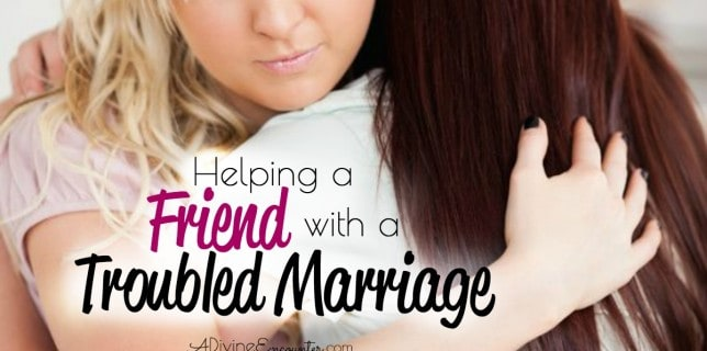 Christian Friend Troubled Marriage fb