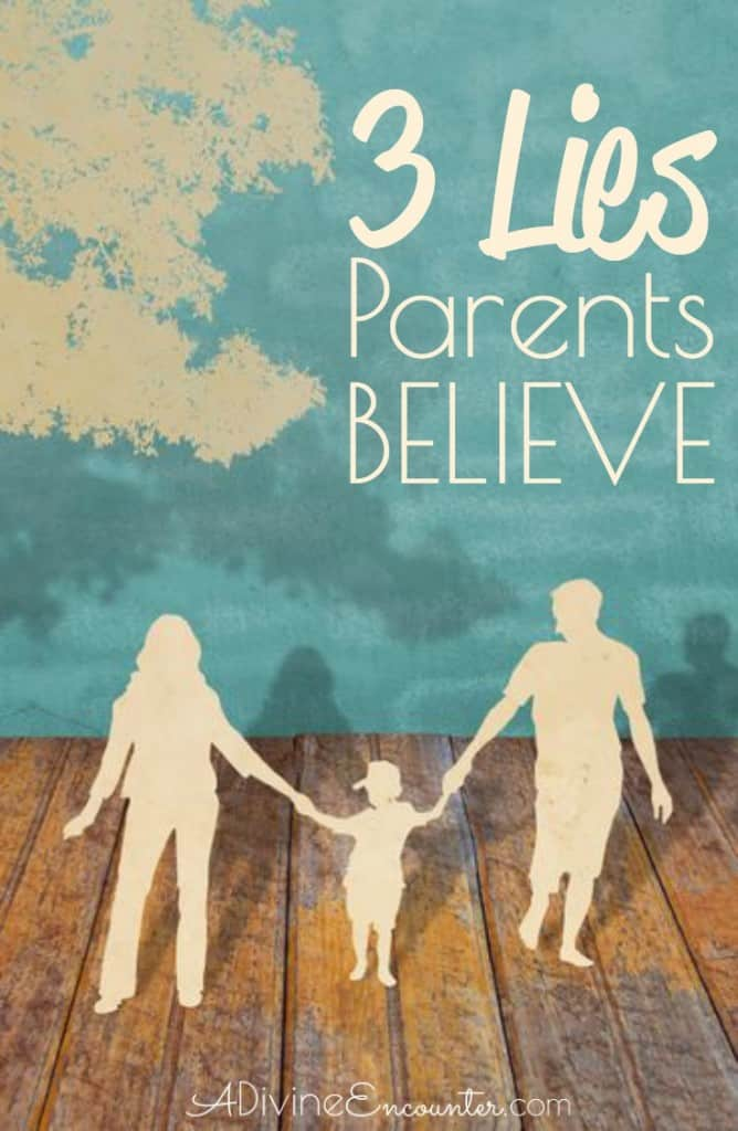 The Bible is an excellent Christian parenting manual, & its truths reveal commonly believed lies in our culture. Insightful post considers 3 of these lies.