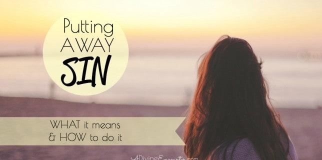 Putting Away Sin fb