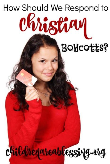 Christian Boycotts