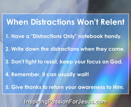 Fighting Distractions