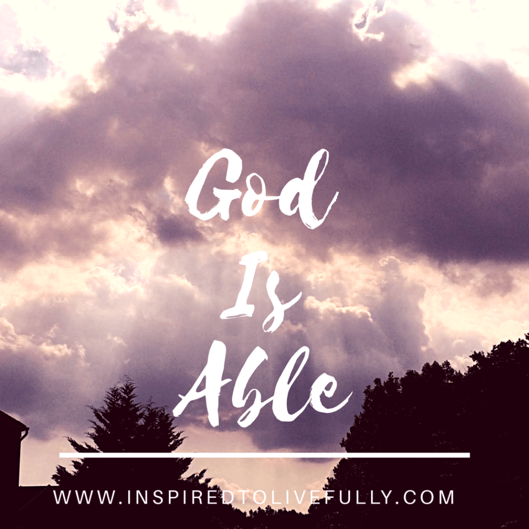 Is God Really Able?